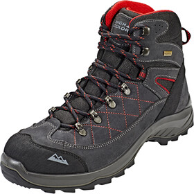 High Colorado Gaebris Mid High Tex Chaussures de randonnée Homme, black/grey/red